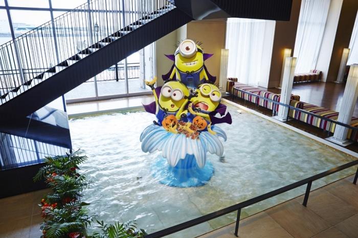 ホテルユニバーサルポート「ミニオン・ハロウィーン・デコレーション」イメージ
