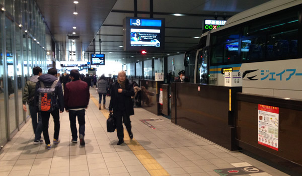 大阪 駅 jr 高速 バス ターミナル 大阪駅JR高速バスターミナル ...